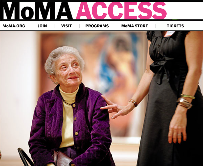 meet me at moma research